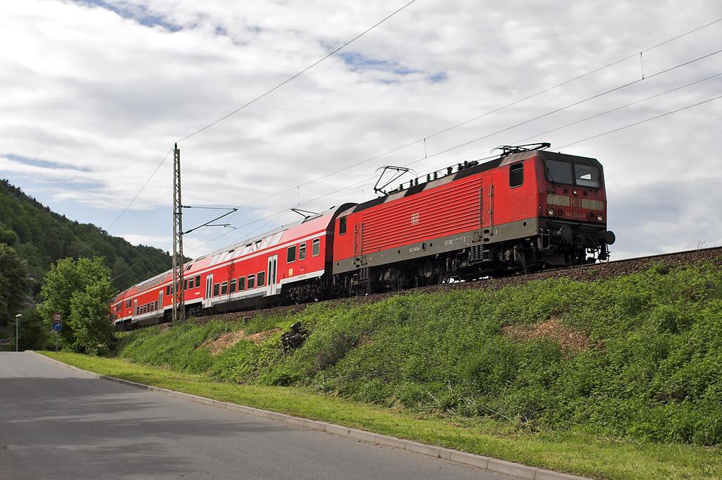 143243 Königstein 19/5/2006<br /> S1 1440 Meißen Triebischtal-Schöna