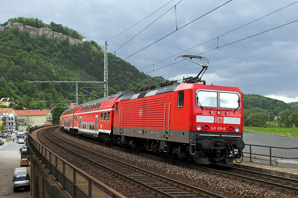 143015 Königstein 19/5/2006<br /> S1 1448 Schöna-Meißen Triebischtal