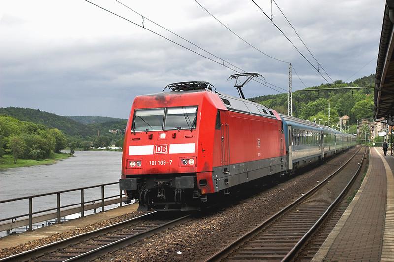 101109 Königstein 19/5/2006<br /> EC174 0650 Budapest Keleti-Hamburg Altona