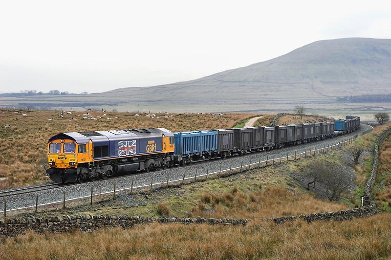 66705 Blea Moor 20/4/2006<br /> 4M52 0615 West Burton PS-Newbiggin