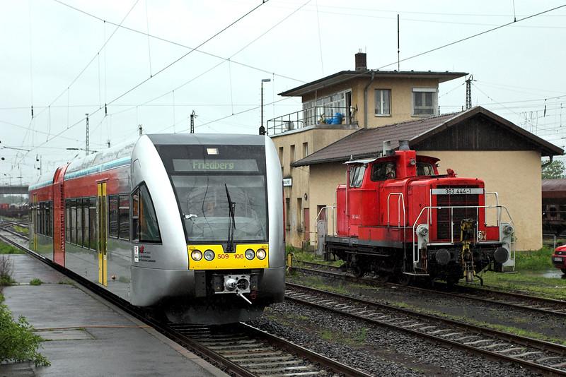 509106 Hanau Hbf 20/5/2006<br /> HLB83923 1419 Friedburg-Hanau Hbf