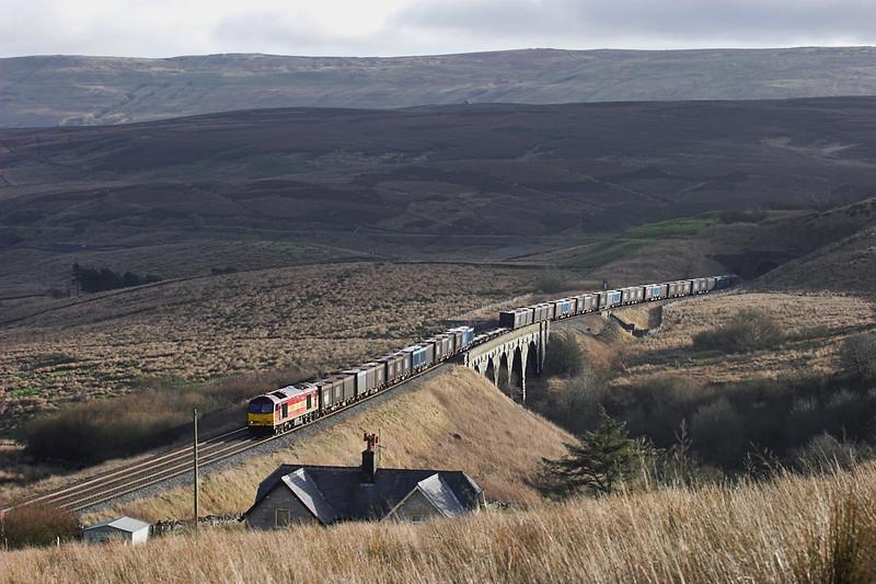 60021 Grisedale 21/1/2006<br /> 6M52 0936 Drax PS-Newbiggin
