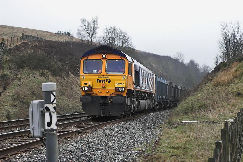 66705 Arten Gill 22/4/2006<br /> 4M52 0615 West Burton PS-Newbiggin