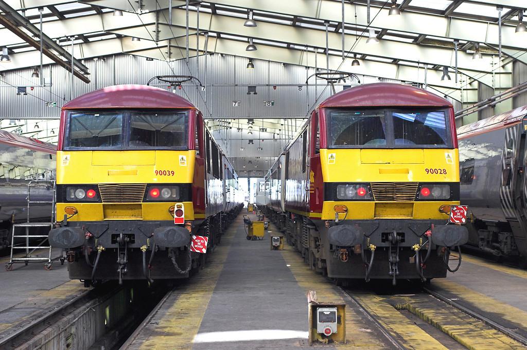 90028 and 90039, Polmadie TMD 22/9/2006