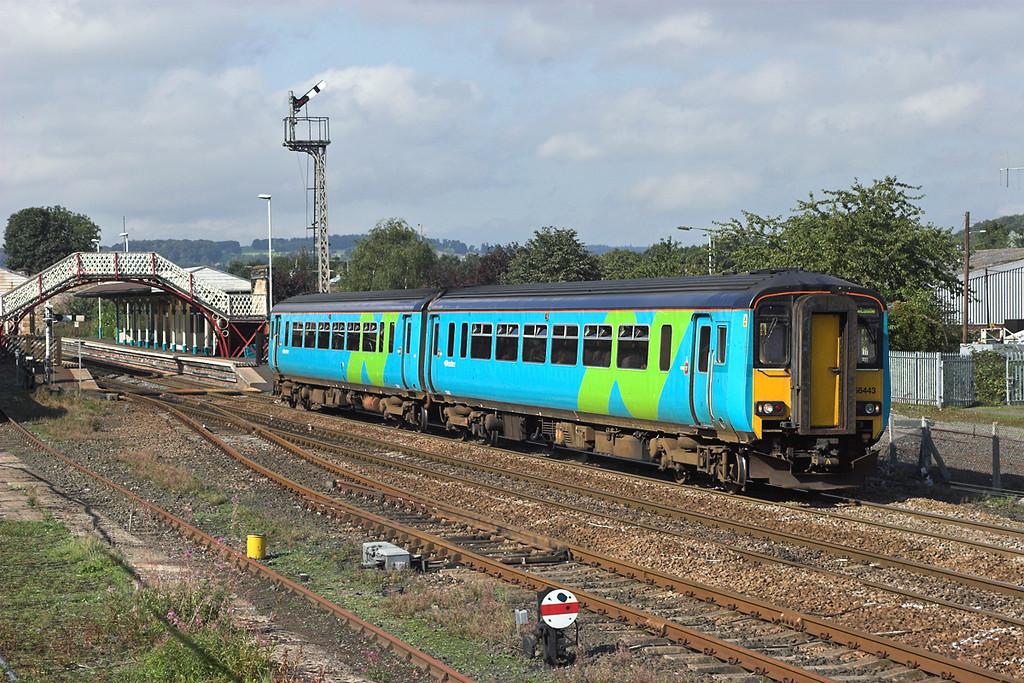 156443 Hexham 23/9/2006<br /> 2N28 1226 Carlisle-Newcastle