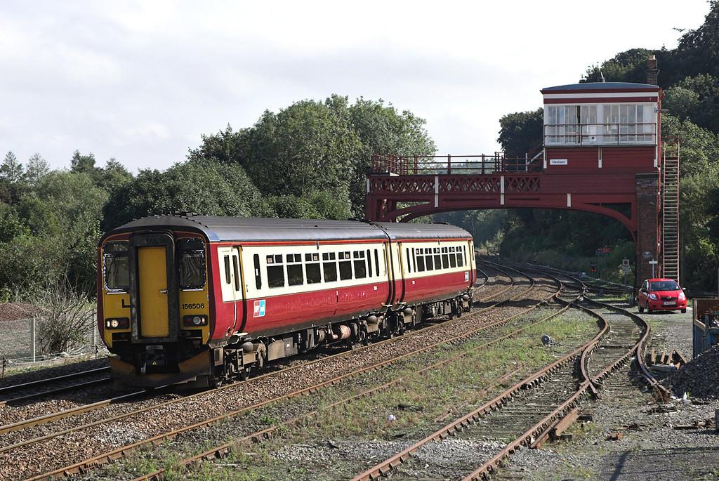 156506 Hexham 23/9/2006<br /> 1S74 1239 Newcastle-Stranraer