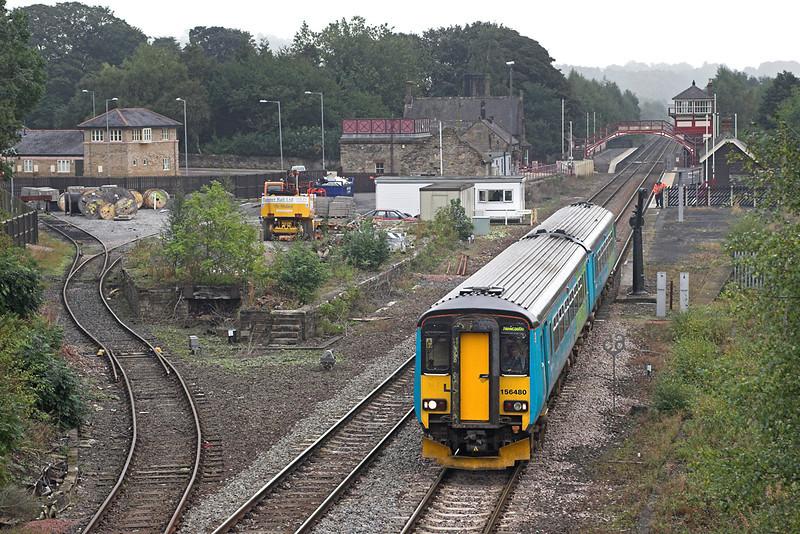 156480 Haltwhistle 23/9/2006<br /> 2N13 0924 Newcastle-Carlisle