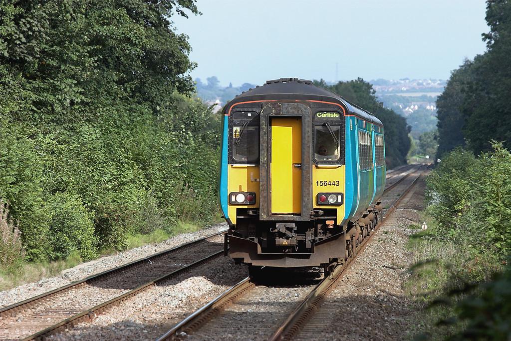 156443 Wylam 23/9/2006<br /> 2N33 1424 Newcastle-Carlisle