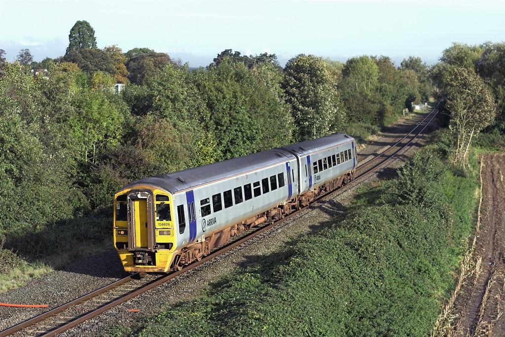 158826 Rossett 23/10/2006<br /> 1V55 0810 Holyhead-Cardiff Central