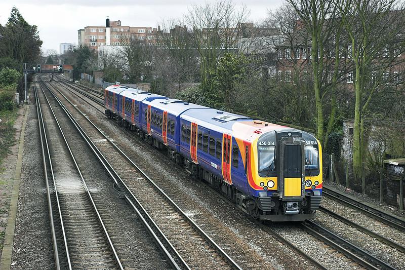450014 Barnes 24/3/2006<br /> 2V35 1337 London Waterloo-London Waterloo<br /> (via Hounslow and Richmond)