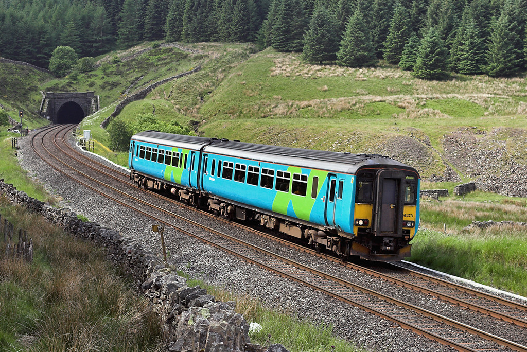156473 Denthead 24/6/2006<br /> 1M53 0947 Leeds-Carlisle