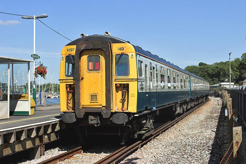 1497 Lymington Pier 24/7/2006<br /> 1J22 1114 Lymington Pier-Brockenhurst