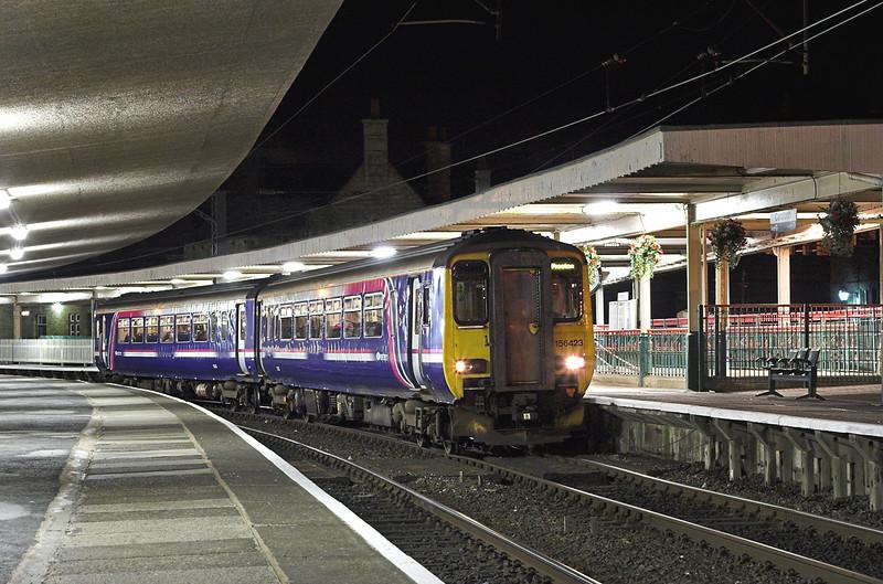 156423 Carnforth 26/1/2006<br /> 2N50 1640 Sellafield-Preston