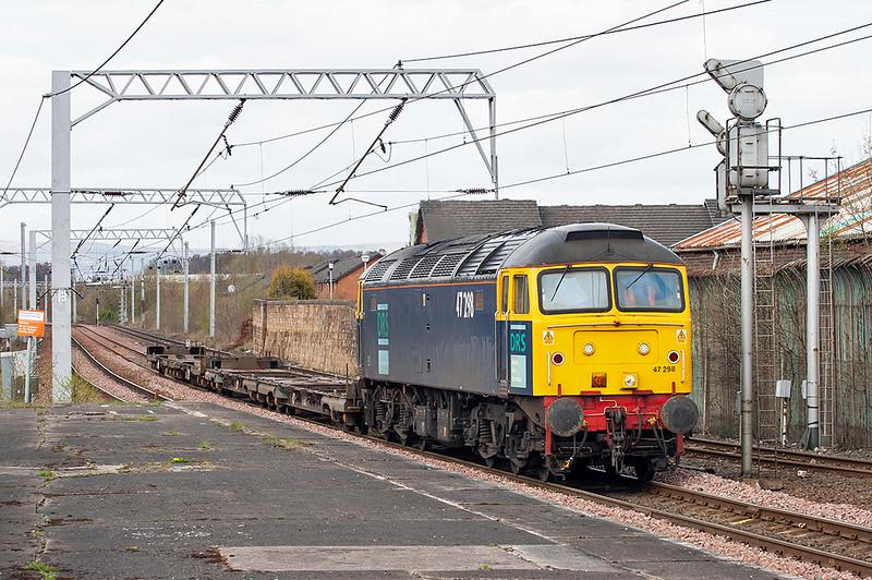 47298 Coatbridge Central 26/4/2006<br /> 4M53 1341 Grangemouth-Carlisle Kingmoor