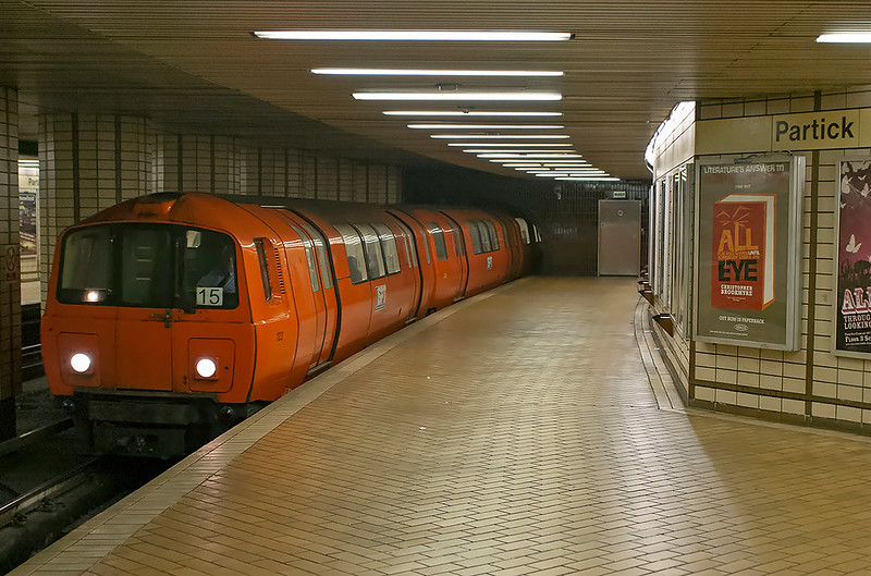 123, 205 and 112, Partick 26/4/2006