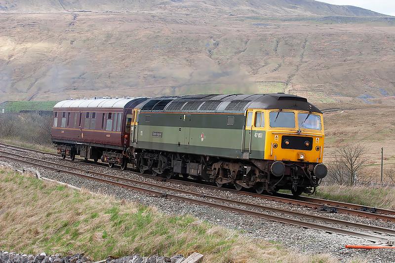 47851 Ribblehead 28/4/2006<br /> 2Z38 1315 Carlisle-Preston