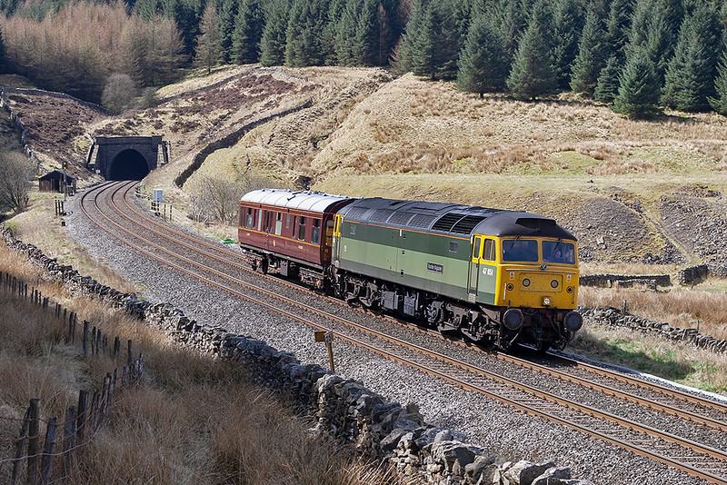 47851 Denthead 28/4/2006<br /> 2Z37 0908 Preston-Carlisle