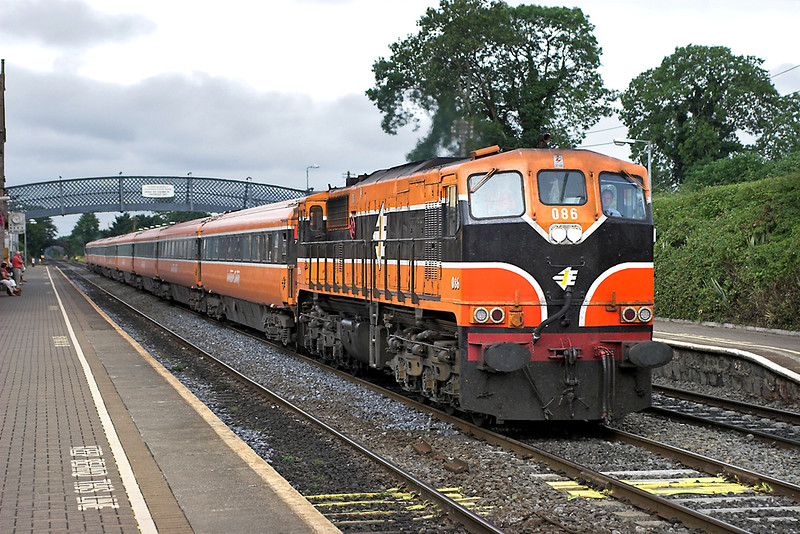 086 Kildare 28/7/2006<br /> 0730 Waterford-Dublin Heuston
