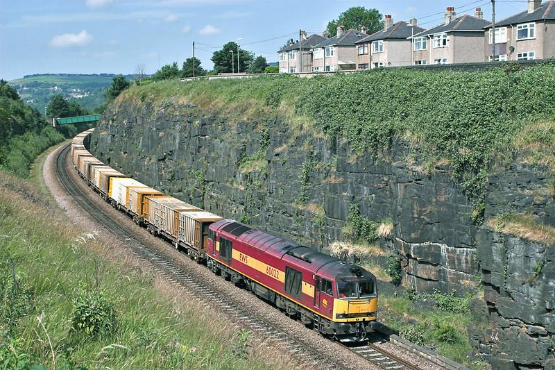 60022 Paddock 29/6/2006<br /> 6E06 1000 Bredbury-Roxby Gullet