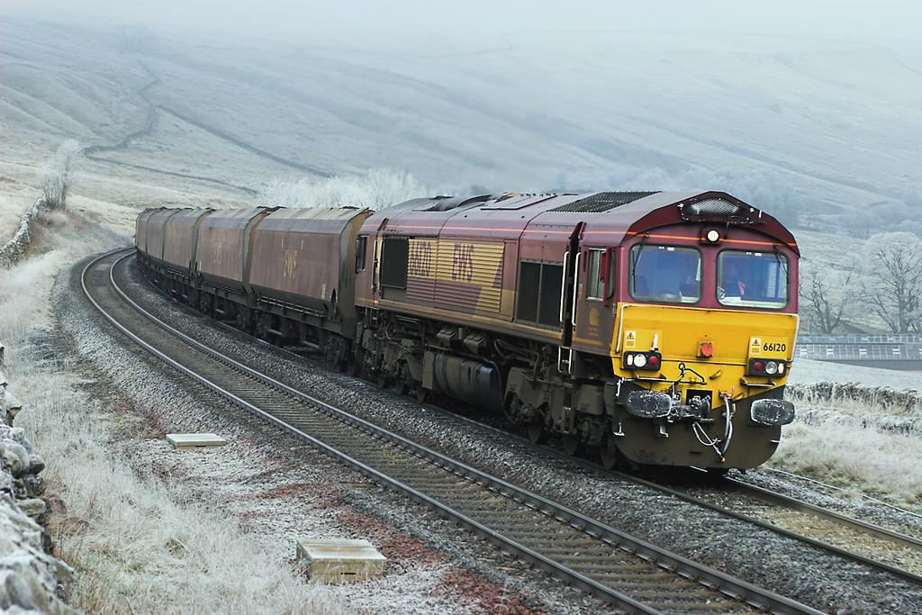 66120 Ais Gill 31/1/2006<br /> 6E82 0303 New Cumnock-Ratcliffe PS