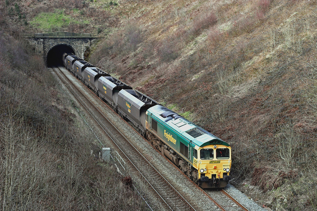 66554 Wilpshire 1/3/2007<br /> 6M11 0606 Hunterston-Fiddlers Ferry PS