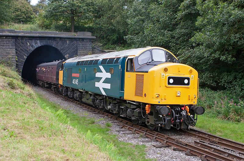 40145 Summerseat 1/9/2007<br /> 1J76 1336 Rawtenstall-Heywood