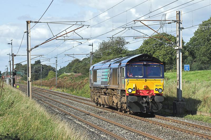 66414 Woodacre 3/9/2007<br /> 0Z66 1320 Carlisle Kingmoor TMD-Crewe CLS