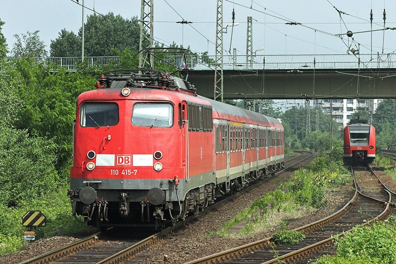 110415 Wesel 6/6/2007<br /> RB20535 1117 Emmerich-Duisburg