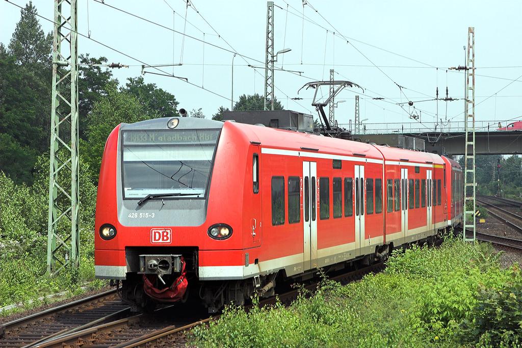 426515 Wesel 6/6/2007<br /> RB20335 1228 Wesel-Mönchengladbach