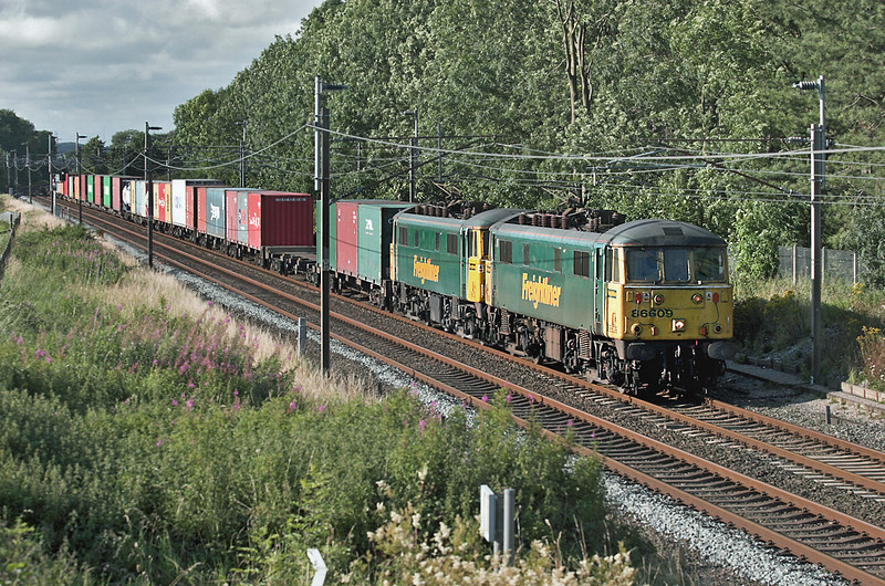 86609 and 86639, Brock 6/8/2007<br /> 4M74 1352 Coatbridge-Basford Hall