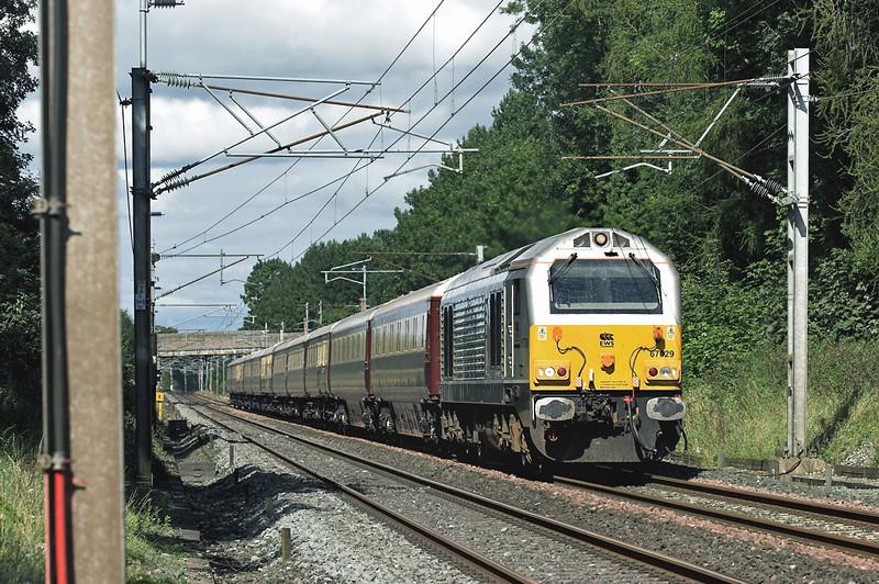 67029 Brock 6/9/2007<br /> 5Z33 0610 Aberdeen-Crewe CS