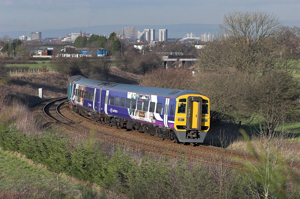 158787 and 153357, Farington 7/2/2007<br /> 1B33 1430 Blackpool North-York