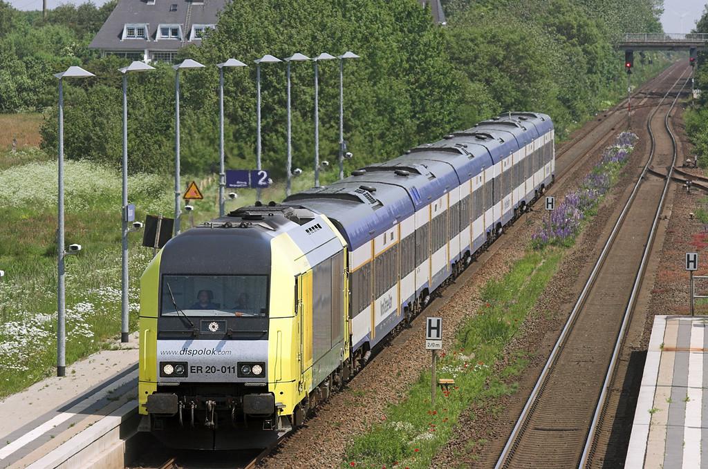 ER20-011 Morsum 7/6/2007<br /> NOB80512 1133 Hamburg Altona-Westerland