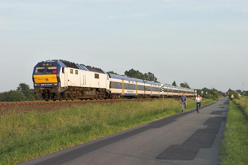 DE2700-08 Langenhorn 7/6/2007<br /> NOB80526 1833 Hamburg Altona-Westerland