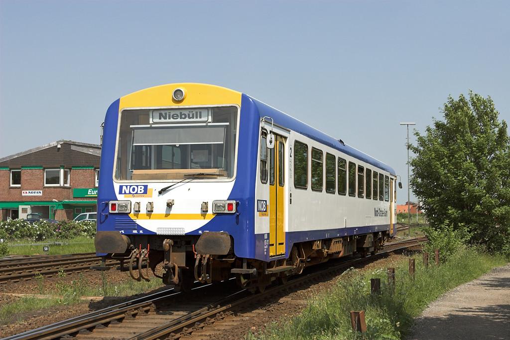 VT41 Niebüll 7/6/2007<br /> NOB90006 1204 Niebüll-Tønder