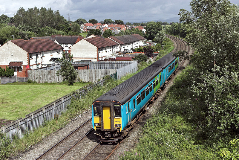 156443 Durranhill 7/7/2007<br /> 2N33 1424 Newcastle-Carlisle