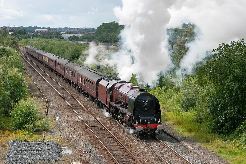 6233 'Duchess of Sutherland', Durranhill 7/7/2007<br /> 1Z33 1452 Carlisle-Liverpool Lime Street
