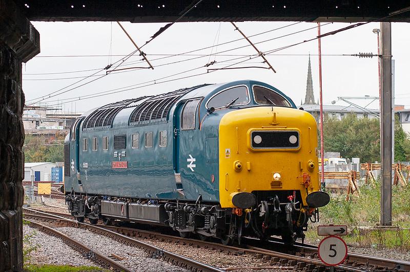 55022 Preston 3/10/2007<br /> 0Z55 0645 Bo'ness-Tyseley