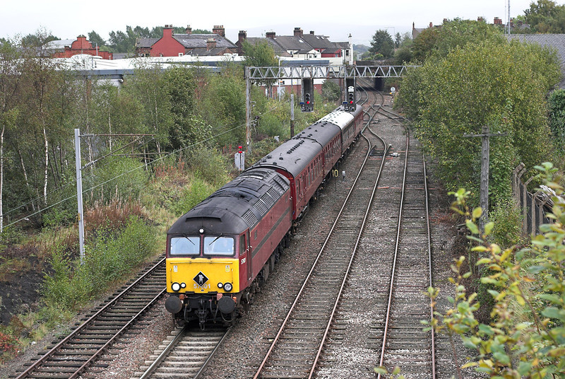 57601 Carlisle 4/10/2007<br /> 1Z80 1055 Hellifield-Carlisle