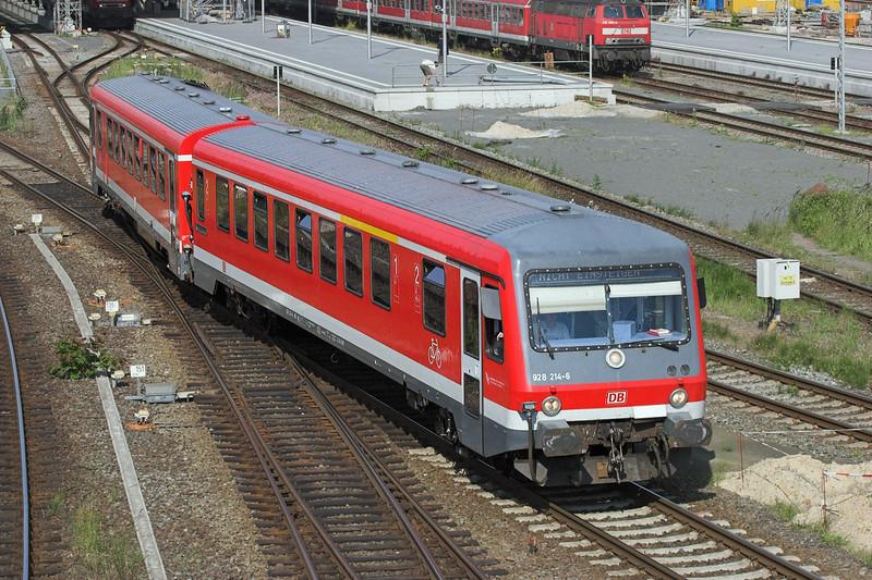 628214 Lübeck Hbf 8/6/2007