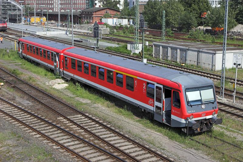 628211 Lübeck Hbf 8/6/2007