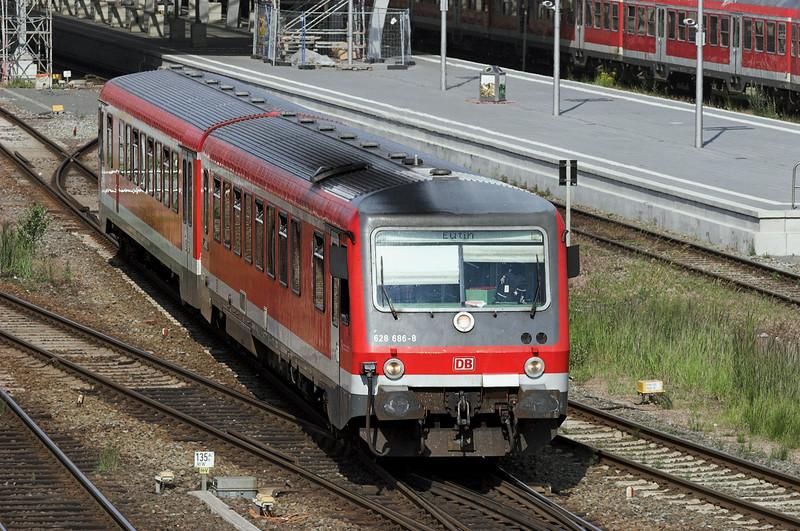 628686 Lübeck Hbf 8/6/2007