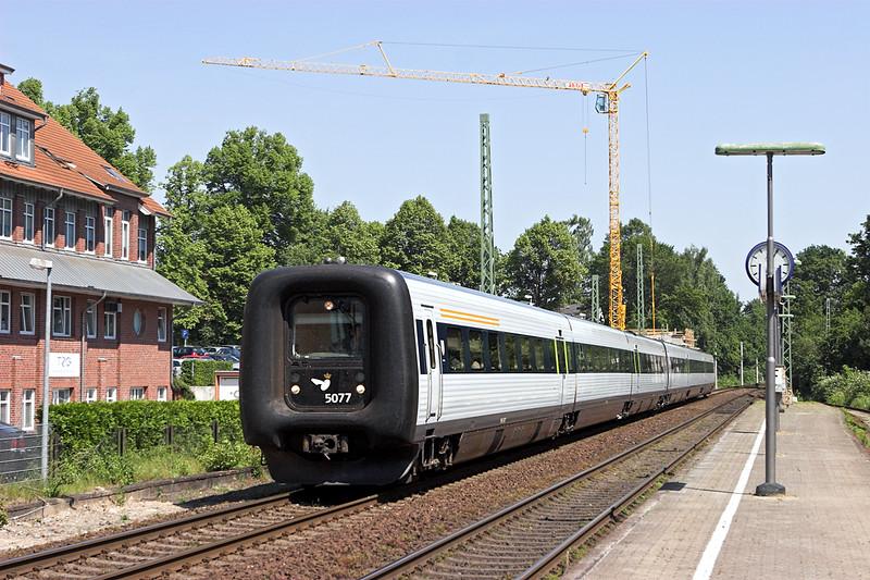 5077 Bargteheide 8/6/2007<br /> EC38 0754 København H-Hamburg Hbf