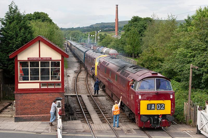 D1015 and D832, Ramsbottom 8/7/2007<br /> 1J82 1526 Rawtenstall-Heywood