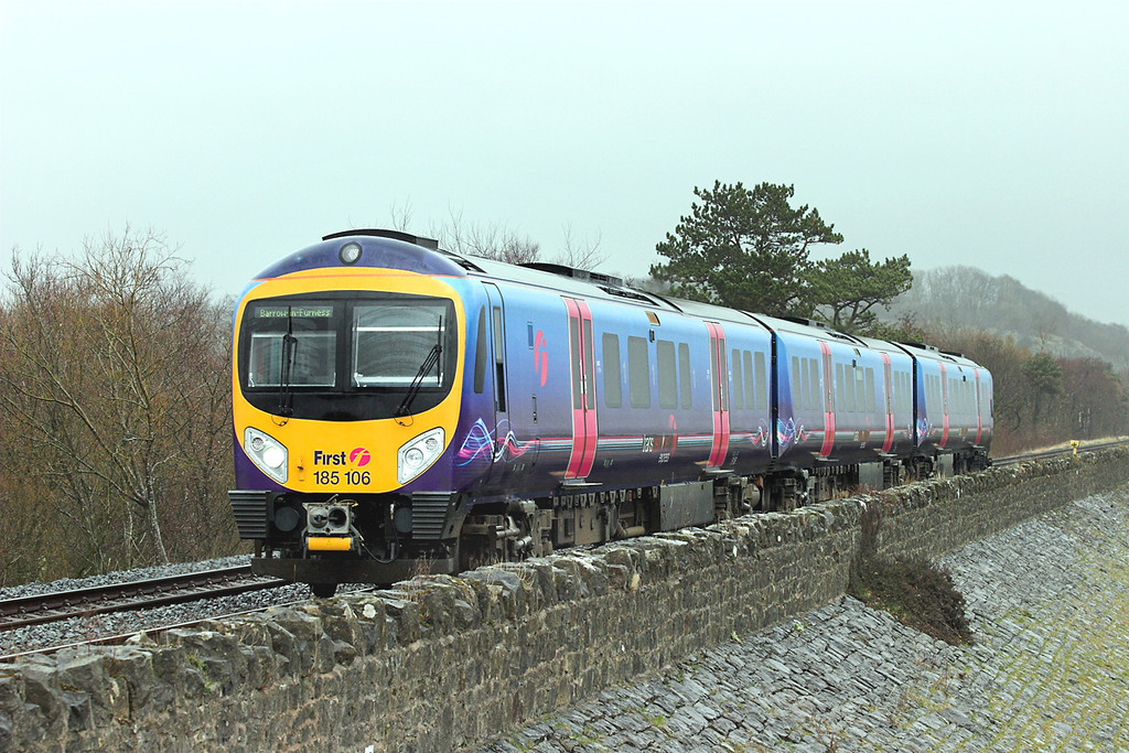 185106 Grange-over-Sands 10/3/2007<br /> 1C60 1027 Manchester Airport-Barrow in Furness