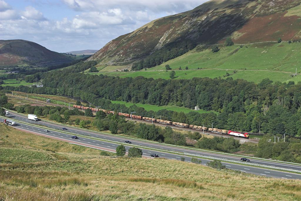 57310 Lune Gorge 10/9/2007<br /> 6J37 1327 Carlisle Yard-Chirk