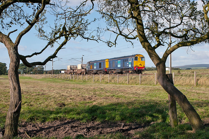 20311 and 20315 Brock 10/9/2007<br /> 6K73 1535 Sellafield-Crewe CLS
