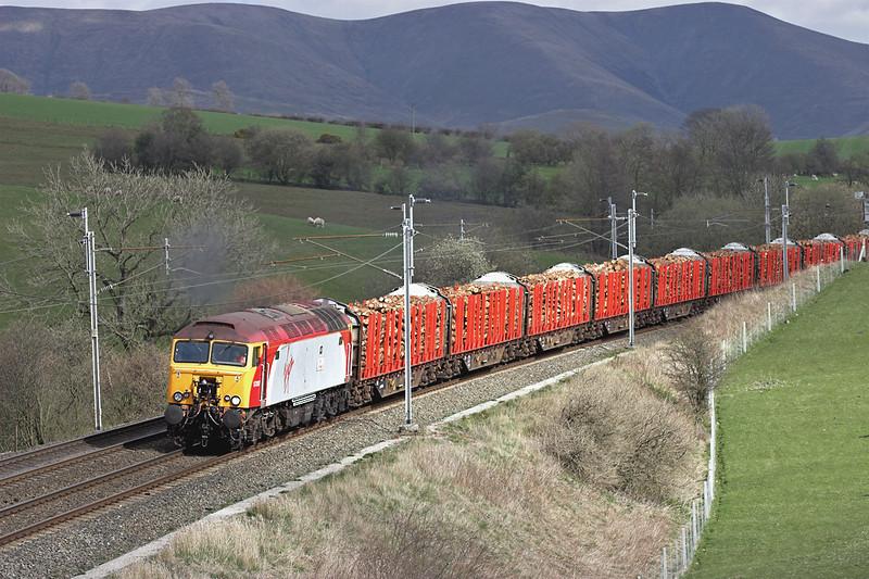 57307 Beck House 11/4/2007<br /> 6Z57 1329 Carlisle Yard-Chirk