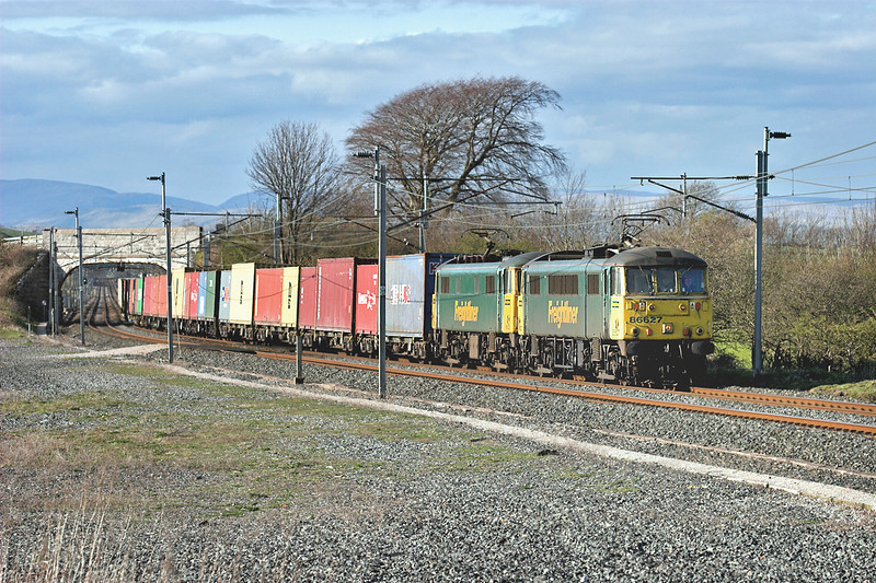 86627 and 86628, Elmsfield 11/4/2007<br /> 4M74 1354 Coatbridge-Basford Hall