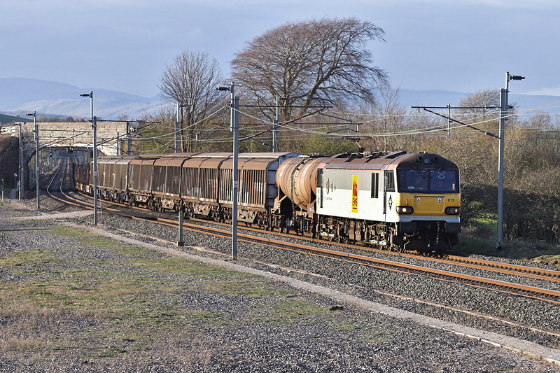 92015 Elmsfield 11/4/2007<br /> 6O12 1715 Carlisle Yard-Eastleigh Yard